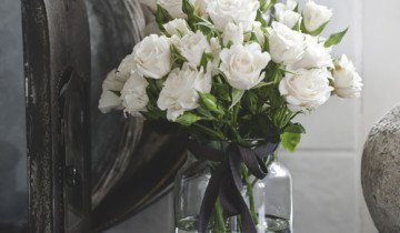 Розы в вазе, photo.99px.ru