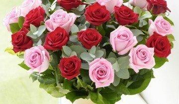 Букет розовых роз, flemingflorist.ie