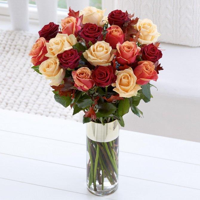 Чтобы цветы в вазе стояли дольше