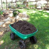 mulch cart