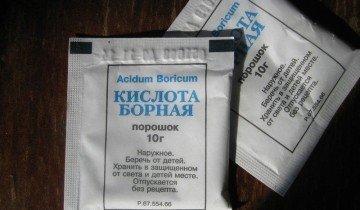 Борная кислота, pikabu.ru