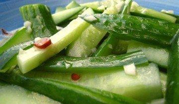 Витаминный салат из огурцов, blogspot.com