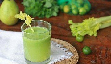 Сок сельдерея поможет при похудении