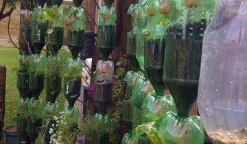 Огород из пластиковых бутылок, s1.hubimg.com