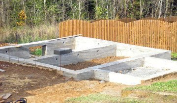 Фундамент для садового дома
