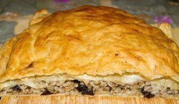 Фотография пирога из груздей, yandex.ru