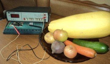 Проверка овощей на нитраты, kak.znate.ru