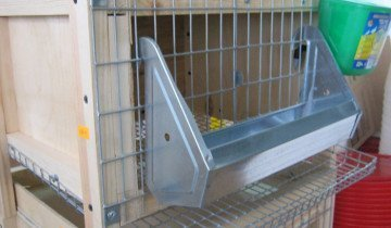 Клетка для кур с кормушкой, 74bf.ru