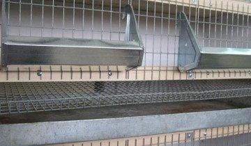 Клетка для кур со скатной доской, 74bf.ru