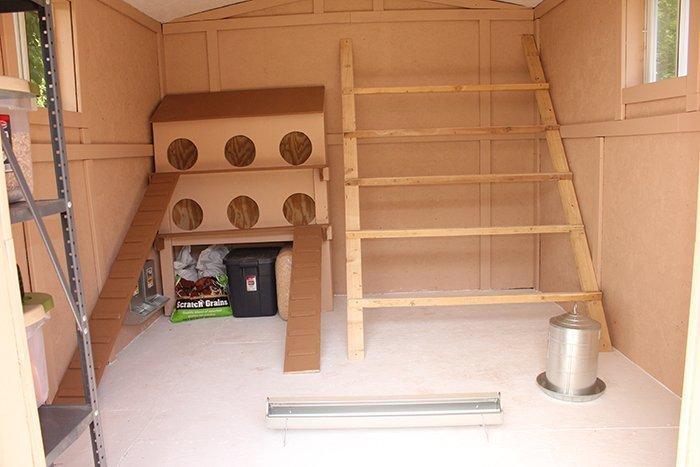 Лестница для курятника своими руками