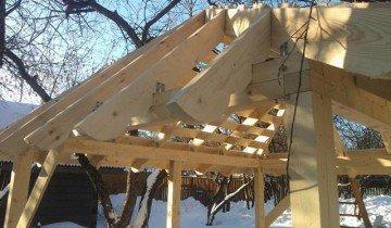 Обрешетка крыши для беседки, ritmstroi.ru