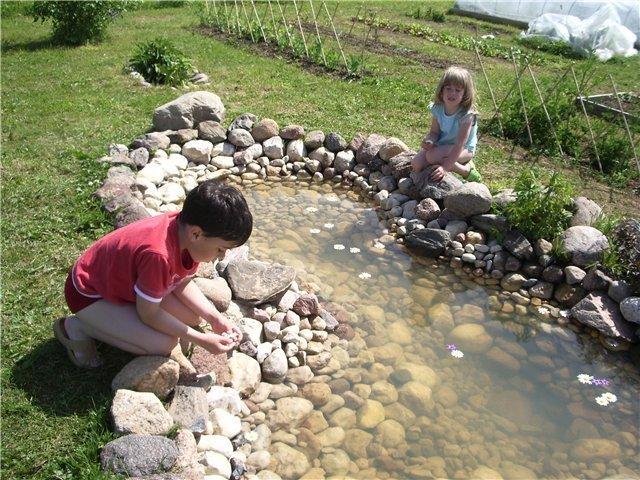 Как сделать пруд своими руками у себя