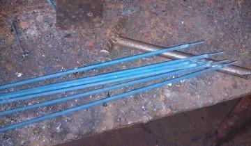 Электроды для сварки толстых слоев металла
