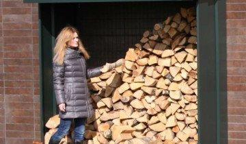 Изображение цельнометалического навеса для дров, aliimg.com