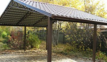 Фото навеса с двухскатной крышей, aliimg.com