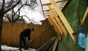 Строительство навеса для дров своими руками, streamphoto.ru