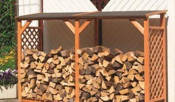 Фото навеса для дров сделанный своими руками, landscape-project.ru