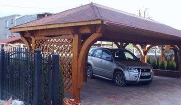 Фото навеса для авто на даче, fordaq.com