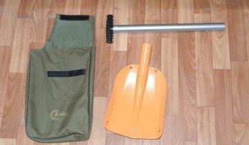 Фото лопаты с цилиндрической ручкой, spasik.com