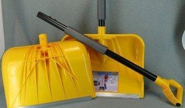 Лопата для снега с треугольной ручкой, sanprotex.ru