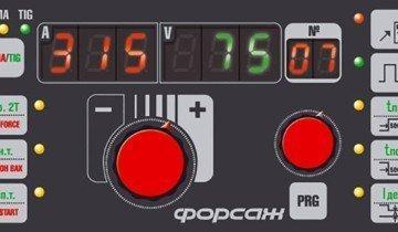 Изображение панели инвертора с ARC FORCE, grpz.ru