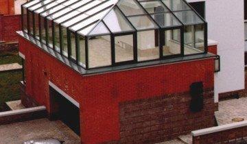 Зимний сад на крыше гаража, cv.ua