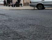 Асфальт на дороге