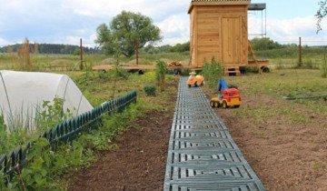 Фото пластиковой дорожки для дачи, stroy-info.ru