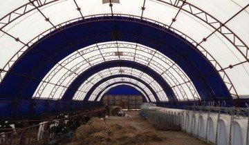 Фото ангара с прозрачной крышей, rdv.by