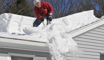 Снимок снегоуборочного процесса, komfort-stroy.lg.ua