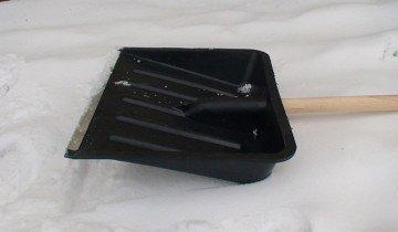 Фото примера пластмассовой лопаты, .konstanta.kiev.ua