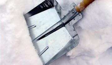 Фотография варианта алюминиевой лопаты, i.юуск74.рф