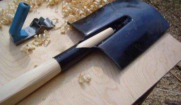 Фотография готовой лопаты, strport.ru