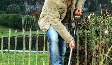 Применение садовой лопаты, fiskars.ua