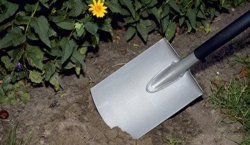 Садовая лопата с закругленным лезвием, fiskars.kg
