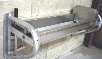 Изображение металлической поилки, molochka.com