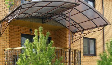 Изображения навеса над крыльцом, ukrweld.com.ua