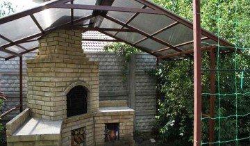 Фотография навеса над печкой, klin-doors.ru