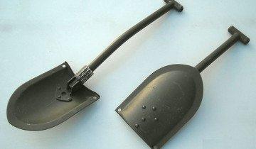 На фото малая лопата саперная складная, combat.in.ua