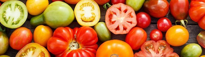 Разные сорта помидоров