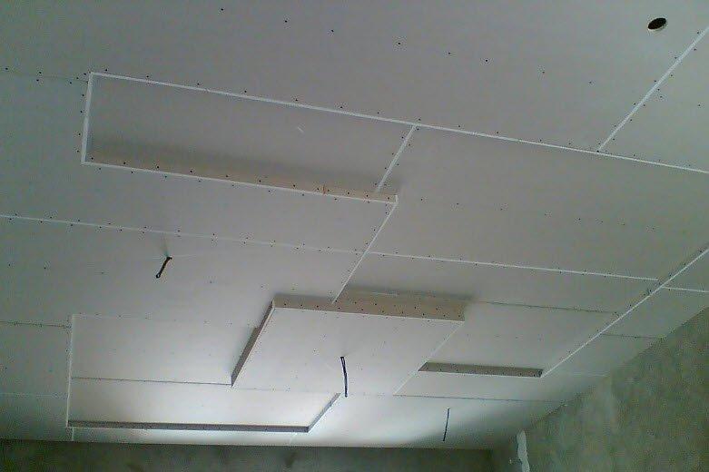 Многоуровневые потолки из гипсокартона фото своими руками