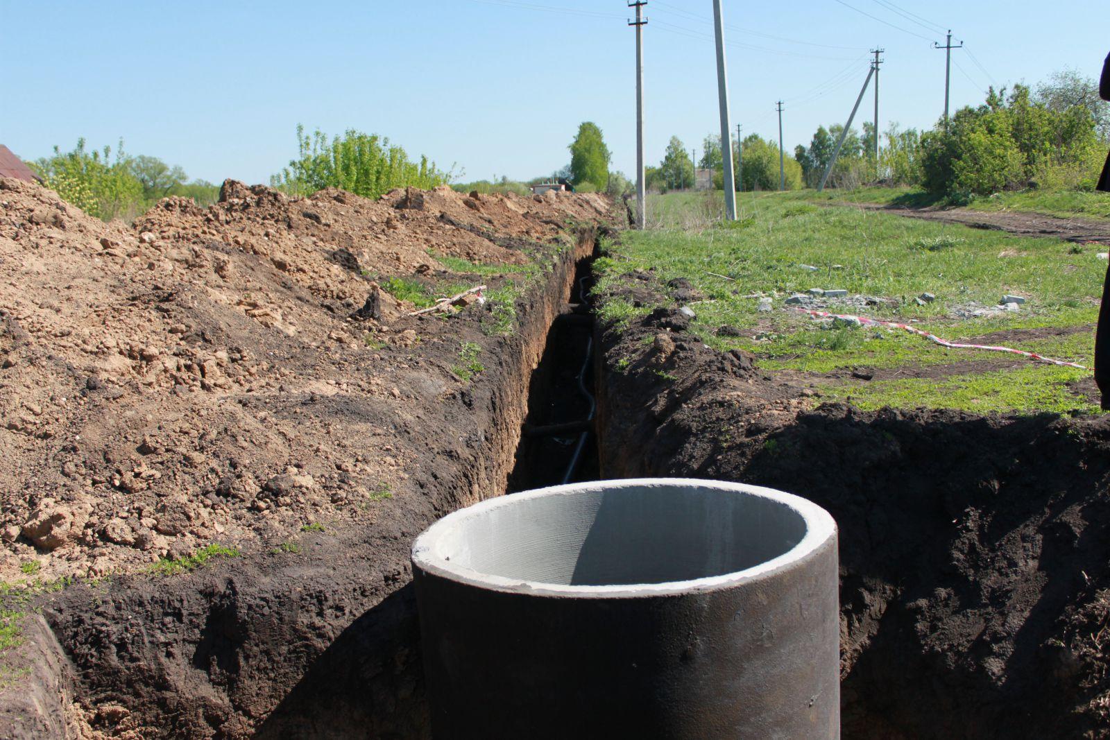 Траншея для водопровода своими руками