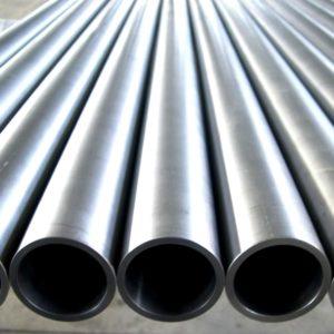 На фотографий стальные водогазопроводные трубы