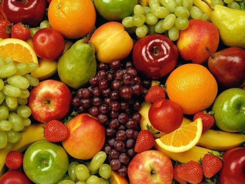 Фотография фруктов и ягод
