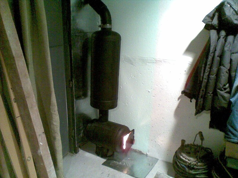 Дымоход в гараже