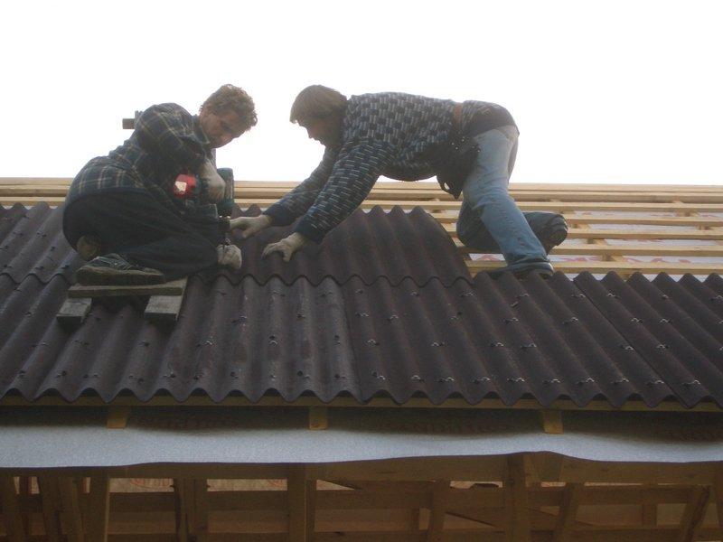 Покрыт крышу своими руками фото