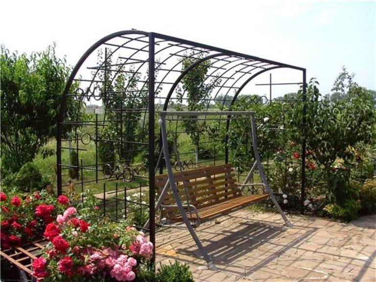 Металлическая арка для винограда своими руками