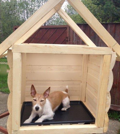 Будка для маленькой собаки