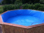 бассейн из поддонов