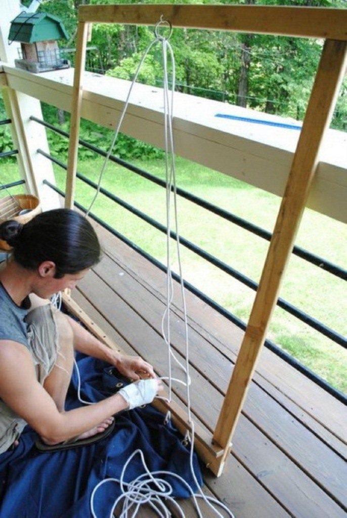 Протягивание шнура